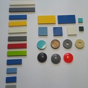 Flat Tiles Studless Plates