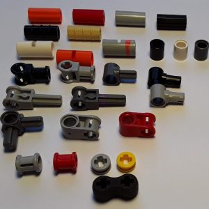 Axle Connectors, Spacers, Bushings, Duel pin and pin Connector, Axle Connector Double Flex Rubber
